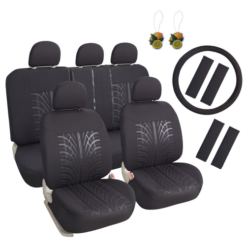 Mesh Cloth Car Seat Covers Full Set
