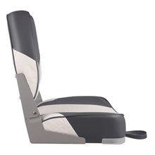 Load image into Gallery viewer, Deluxe Low Back Fold-Down Fishing Boat Seats (2 Seats)