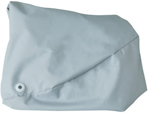 Back to Back Lounge Seat Cover Grey