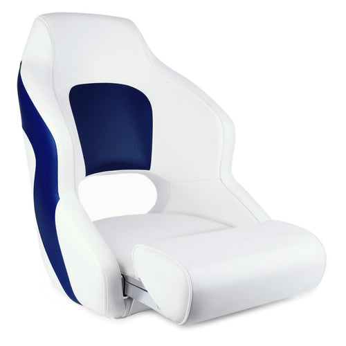 Premium Boat Seats | Two Tone Captain's Bucket Seat Model A