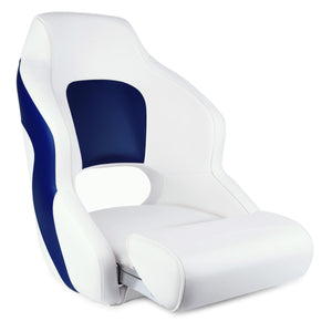 Premium Boat Seats | Two Tone Captain's Bucket Boat Seats Model A