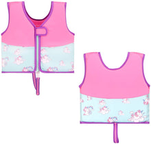 Load image into Gallery viewer, Kid's Learn to Swim Vest Pink