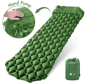 Camping Sleeping Pads with Pillow Inflatable Sleeping Mat