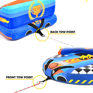 Towable Tube for 1-2 Rider