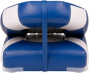 Deluxe High Back Fold-Down Fishing Boat Seats (2 Seats)