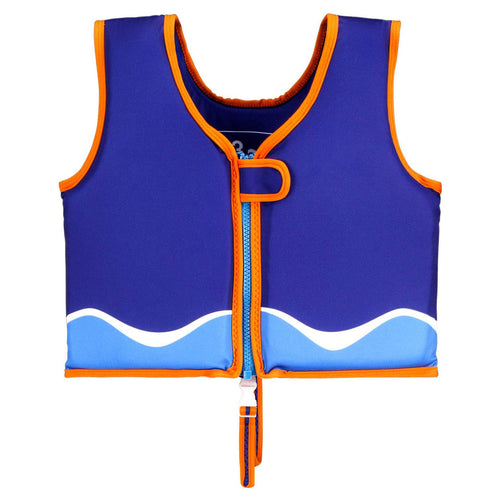 Kid's Learn to Swim Vest Blue