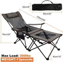 Load image into Gallery viewer, Upgraded Ultralight Portable Folding Camping Chair