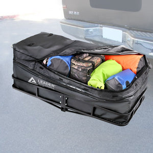Hitch Cargo Carrier Bag Waterproof Extendable 13.8 cu. ft. to 16.6cu. ft.