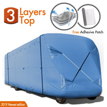Load image into Gallery viewer, Class C RV Cover BLUE