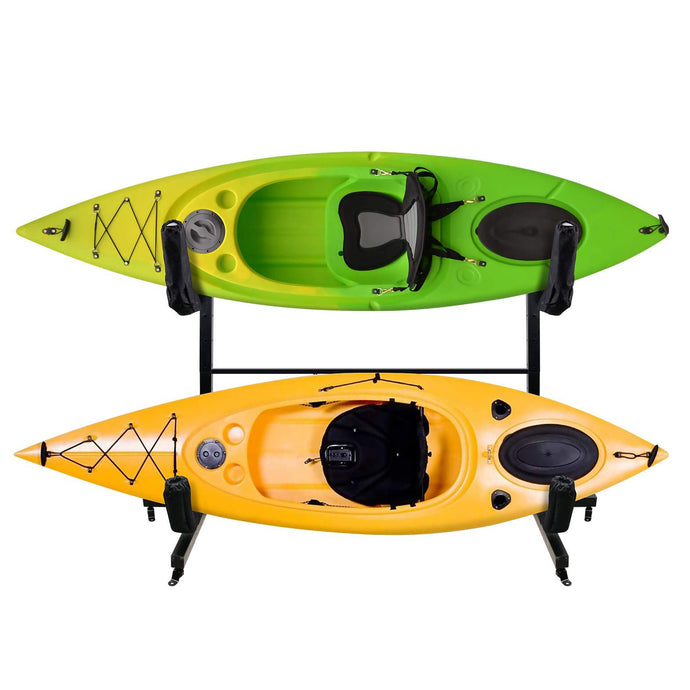 Kayak Storage Racks for Two Kayaks