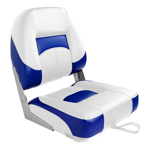 NEW Boat Seat Low Back Folding