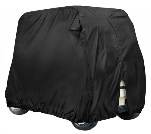 Golf Cart Cover Storage Fit EZ Go, Club Car, Yamaha Cart W Zipper-2 Person/4 Person