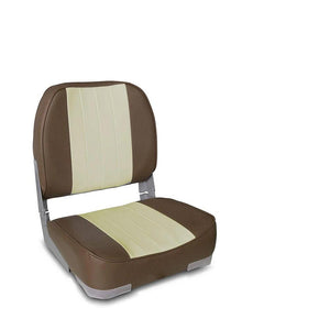 Boat Seat Low Back Folding 13 Colors - Leader Accessories