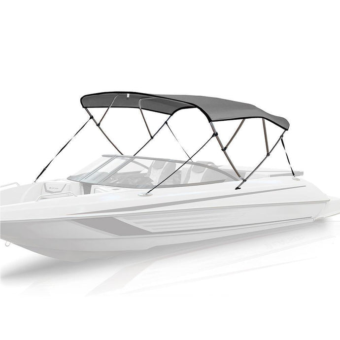 4 Bow Bimini Top LIGHT GREY - High Quality Bimini Tops
