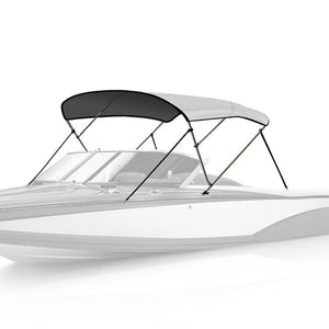 3 Bow Bimini Top LIGHT GREY - High Quality Bimini Tops
