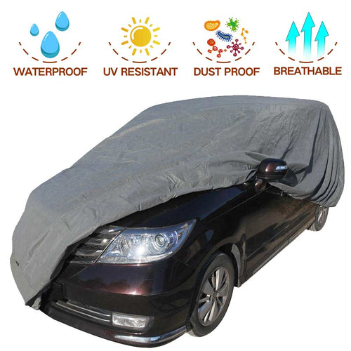 Minivan Car Cover 2 Different Styles (Minivan up to 18'0