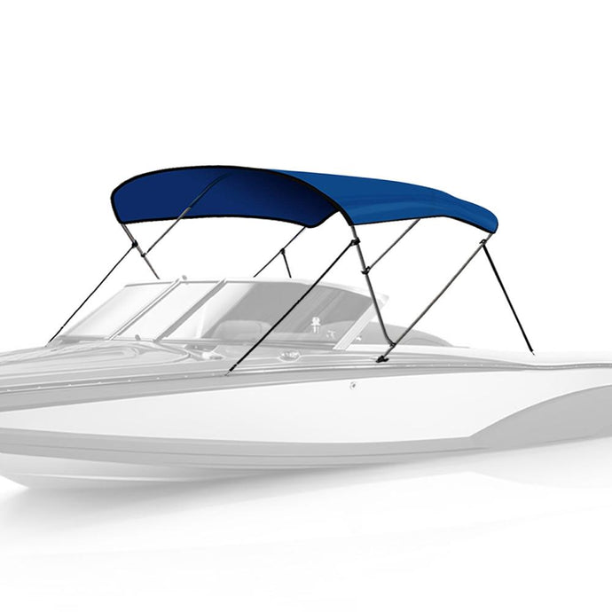 3 Bow Bimini Top PACIFIC BLUE - High Quality Bimini Tops