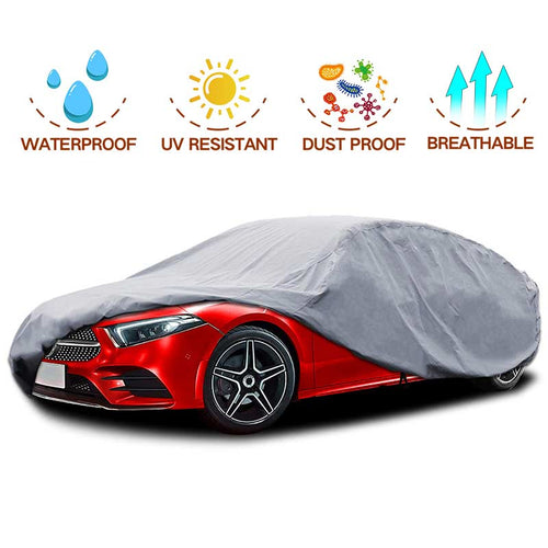 NEW Sedan Car Cover PEVA with COTTON Up to 200