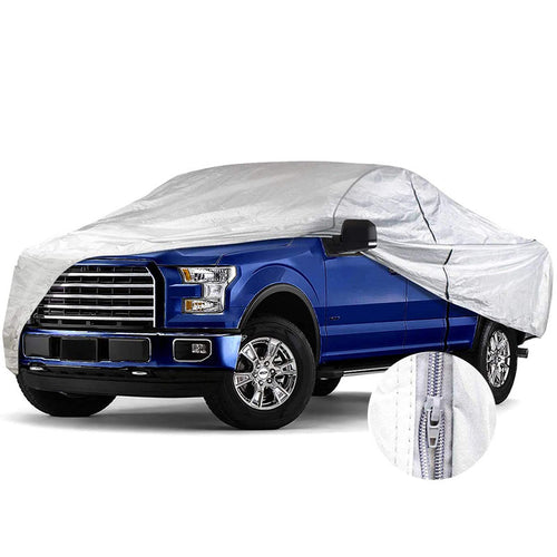 Truck Car Cover Aluminium Cotton with Door Zipper Up to 249