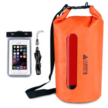 Load image into Gallery viewer, Waterproof PVC Dry Bag with Clear Window - Leader Accessories
