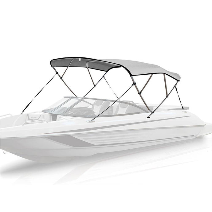 4 Bow Bimini Top WHITE - High Quality Bimini Tops