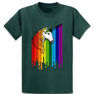 Unicorn Rainbow  Pride T Shirt