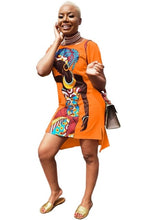 Load image into Gallery viewer, Vibrant African Woman Dress - Various Colours Available