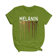 Load image into Gallery viewer, Dripping Melanin T-shirt