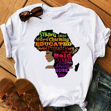 Load image into Gallery viewer, Positive Colourful Africa T-shirt