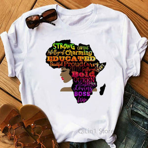 Positive Colourful Africa T-shirt