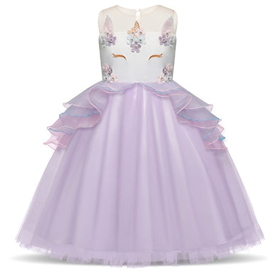 Child's Unicorn Party Dress