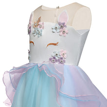 Load image into Gallery viewer, Child's Unicorn Party Dress