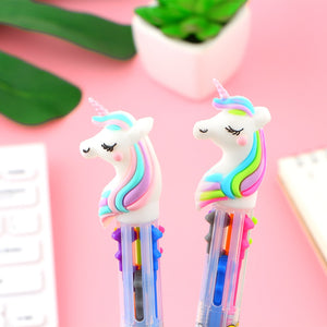 Set of 2 - 6 Colour Ballpoint Pens