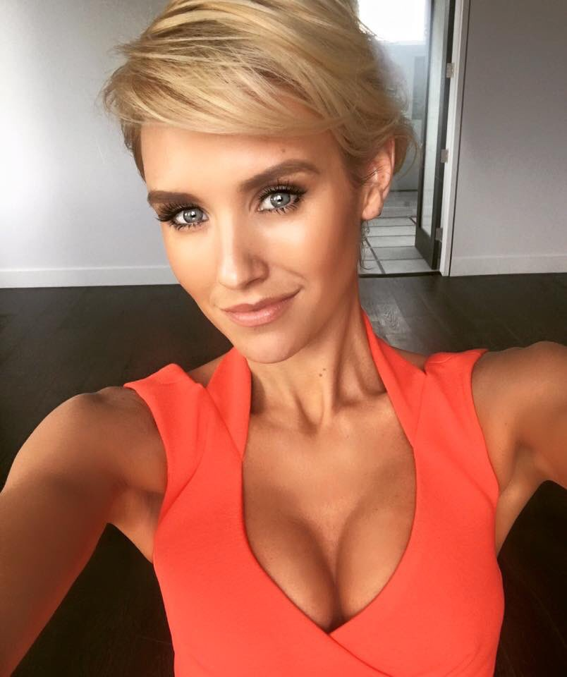 Nicky Whelan Lets Her Nieces Give Her A Pixie