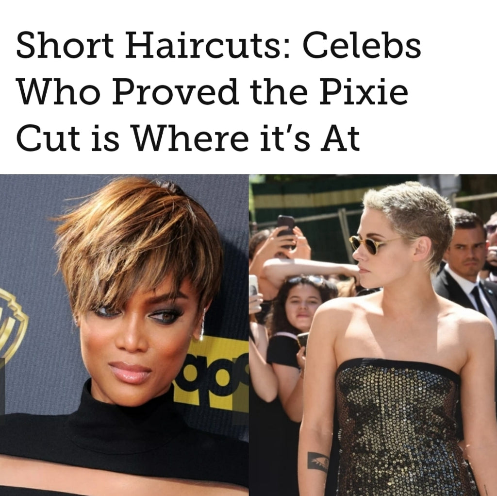 Short Haircuts: Celebs Who Proved the Pixie Cut is Where it's At