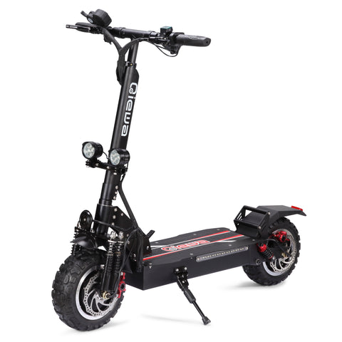 Qiewa Q-POWER(Black) Electric Off-Road Scooter 3200W 1-Year Warranty
