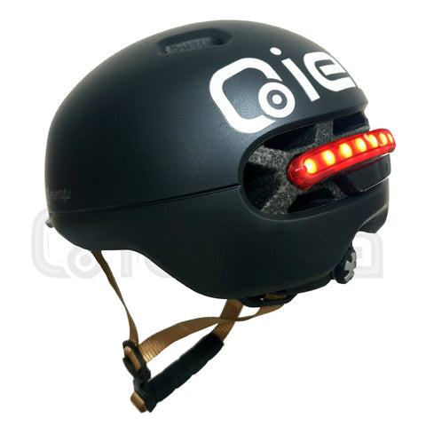 Qiewa-Bicycle Helmet  with 3Types of Alert Lights