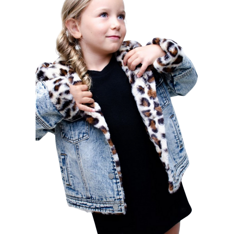 Leopard Reversible Jacket