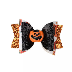 Jack The Pumpkin Bow