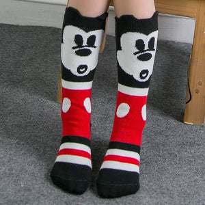 Hey Mouse High Socks