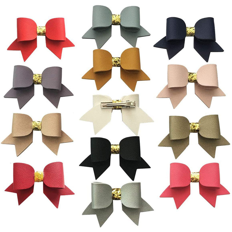 Leather Bows