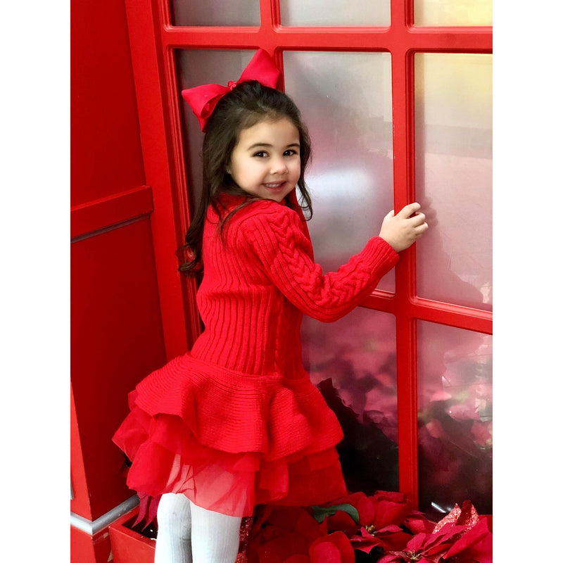 Quinnie Sweater Tutu Dress