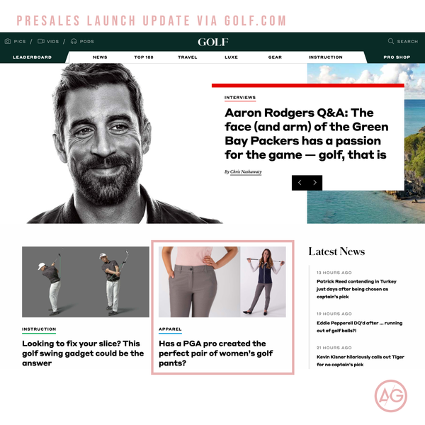 The Peggy Pant on Golf.com