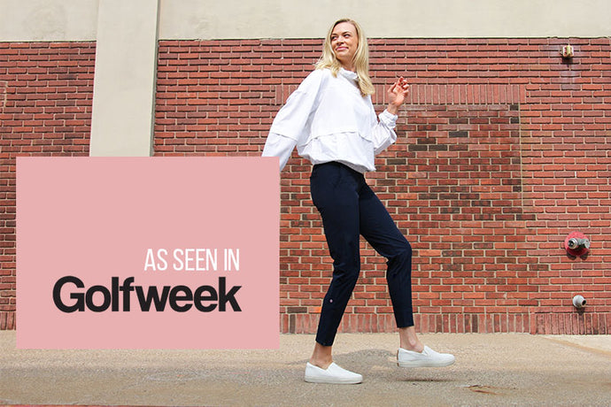 The Peggy Pant Featured in Golfweek