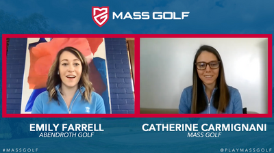 Emily Farrell featured on Faces of Mass Golf Podcast