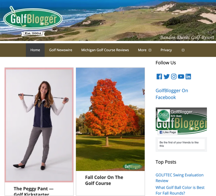 The Peggy Pant on GolfBlogger.com