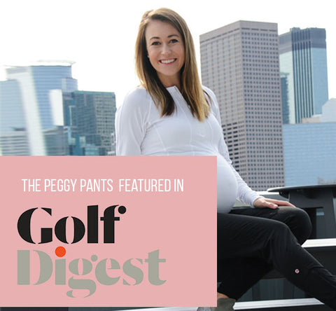 Peggy Pants featured on Golf Digest