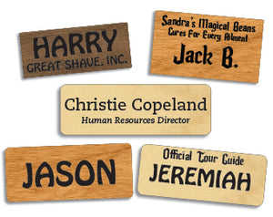 Classic Name Tags (Text Only)
