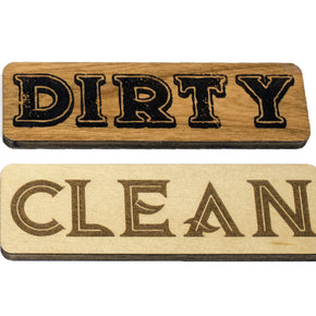 Reversible Clean/Dirty Dishes Indicator Magnet
