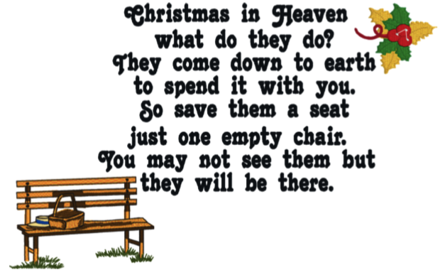 Christmas In Heaven What Do They Do.Christmas In Heaven 2 6x10